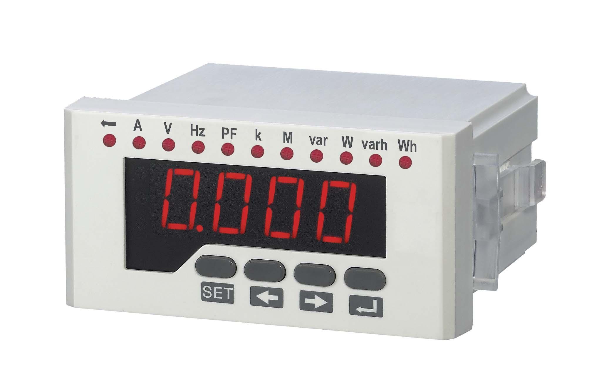三相数显电压表48*96单相电流数显表直销