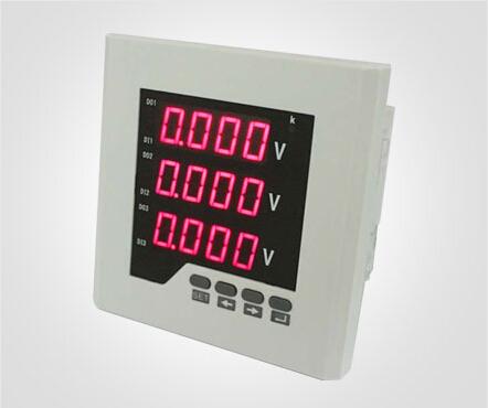 工业方面三相数显电压表的应用